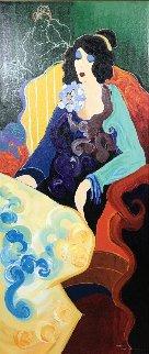 Josephine 1998 Embellished Limited Edition Print by Itzchak Tarkay