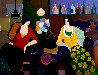 My Ruby Necklace 2004 48x58 Original Painting by Itzchak Tarkay - 0