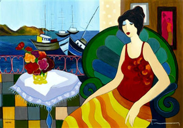 Cozy Cove HC 2006 Limited Edition Print by Itzchak Tarkay