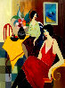Cafe Company PP 2005 Limited Edition Print by Itzchak Tarkay - 0