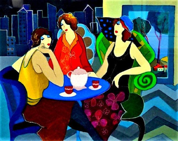 Girls Night Out 2005 Limited Edition Print by Itzchak Tarkay
