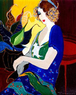 Marsha Embellished Limited Edition Print - Itzchak Tarkay