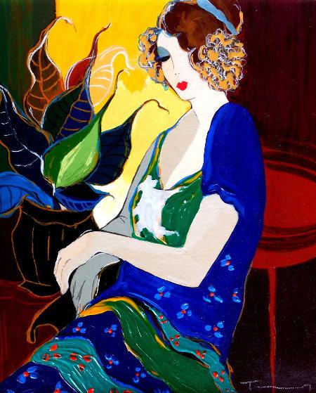 Marsha Embellished Limited Edition Print by Itzchak Tarkay