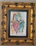 Sinful Thoughts 2004 Embellished Limited Edition Print by Itzchak Tarkay - 1