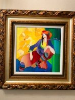 Vivid Thoughts 2006 Hand Embellished Limited Edition Print by Itzchak Tarkay - 3