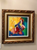 Vivid Thoughts 2006 Hand Embellished Limited Edition Print by Itzchak Tarkay - 4