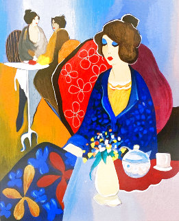 Three At Noon 2000 Limited Edition Print - Itzchak Tarkay