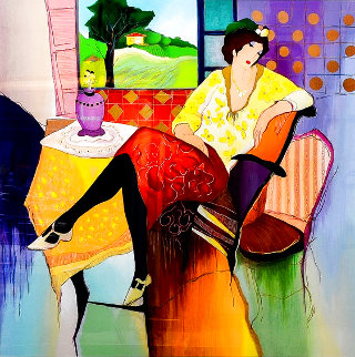 Waiting For Love 2014 Limited Edition Print - Itzchak Tarkay