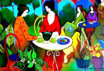 Friends Luncheon Limited Edition Print - Itzchak Tarkay