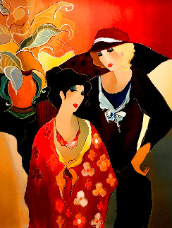 Just the Two of Us EA Limited Edition Print - Itzchak Tarkay