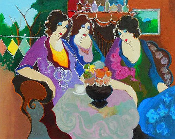 After the Party EA 2003 Limited Edition Print - Itzchak Tarkay