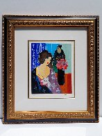 Quiet Reflection 2001 Limited Edition Print by Itzchak Tarkay - 1