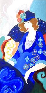 Blue Dress II 2003 Limited Edition Print - Itzchak Tarkay