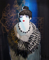 Liza at the Party 2001 Limited Edition Print by Itzchak Tarkay - 0