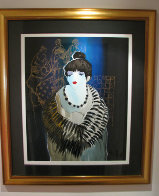 Liza at the Party 2001 Limited Edition Print by Itzchak Tarkay - 1