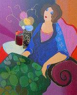 In Bloom 2000 Limited Edition Print by Itzchak Tarkay - 0