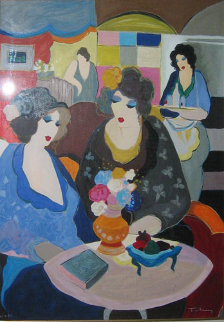 Cafe Select AP Limited Edition Print by Itzchak Tarkay
