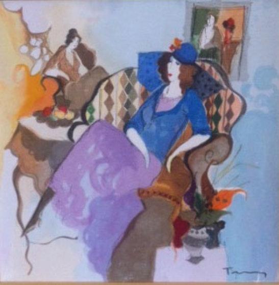 Le Salon I Version 2, No.17 1997 Limited Edition Print by Itzchak Tarkay