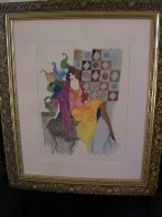 Untitled Lithograph 1990 Limited Edition Print by Itzchak Tarkay - 2