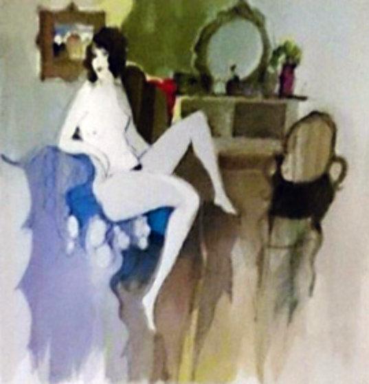 Nude Limited Edition Print by Itzchak Tarkay