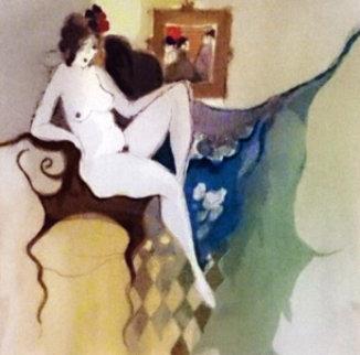Nude Limited Edition Print - Itzchak Tarkay