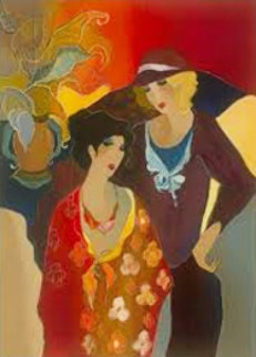 Just the Two of Us 2008 Limited Edition Print by Itzchak Tarkay