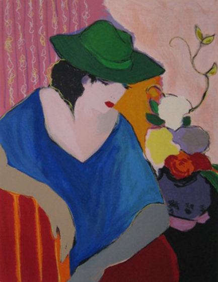 Solitude I 1990 Limited Edition Print by Itzchak Tarkay