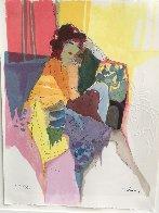 Reverie, From Les Parisiens Suite  AP 1991 Limited Edition Print by Itzchak Tarkay - 1