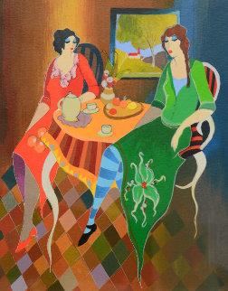 Telling Stories 2005  Limited Edition Print - Itzchak Tarkay