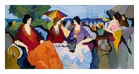 Holiday in Cannes AP 1994 Limited Edition Print by Itzchak Tarkay - 1