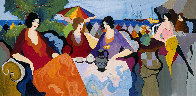 Holiday in Cannes AP 1994 Limited Edition Print by Itzchak Tarkay - 0