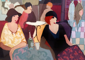 Aperitif 1990 Limited Edition Print by Itzchak Tarkay