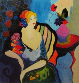 Veronica - Summertime Suite 1998 Limited Edition Print - Itzchak Tarkay