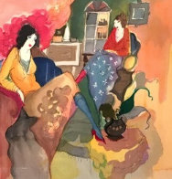 Le Salon III 1996 Limited Edition Print by Itzchak Tarkay - 0