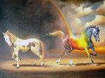 Defining Moment 2007 39x49 Original Painting - Glen Tarnowski