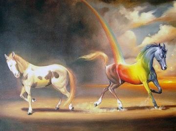 Defining Moment 2007 39x49 Original Painting by Glen Tarnowski