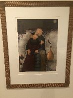 Tender Moment 1987 Limited Edition Print by Eng Tay - 2