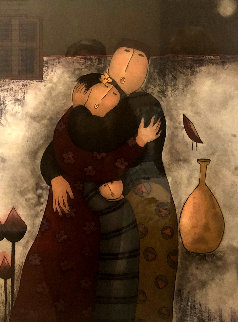 Tender Moment 1987 Limited Edition Print by Eng Tay