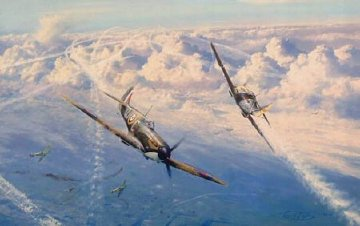Combat Over London Limited Edition Print by Robert Taylor
