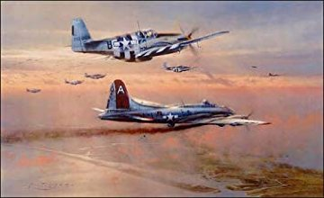 Bringing the Peacemaker Home 1990 Limited Edition Print by Robert Taylor