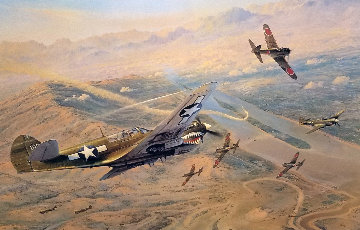 Fighting Tigers Limited Edition Print by Robert Taylor