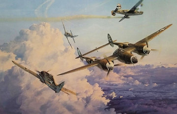 Hostile Sky 1990 Limited Edition Print by Robert Taylor