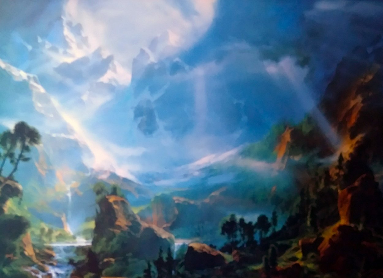 And the Light Shall Guide You Home 1990 Limited Edition Print by Dale Terbush
