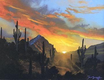 Untitled Landscape 29x33 Original Painting - Dale Terbush