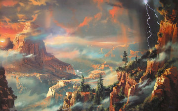 Between This World And Heaven AP 1990 Limited Edition Print by Dale Terbush