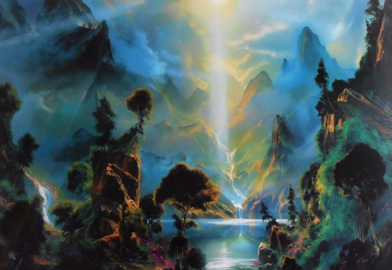 Glory of the Light Within 1995 Limited Edition Print by Dale Terbush
