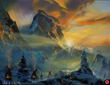 Song of Winter's Heart 1995 Limited Edition Print by Dale Terbush