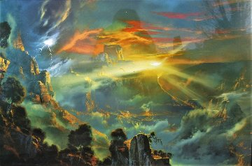 Exalted in the Heavens AP 1995 Limited Edition Print by Dale Terbush