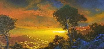 Sound of Twlight 2003 23x33 Original Painting by Dale Terbush