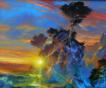 Gift From Beyond 1997 28x34 Original Painting by Dale Terbush